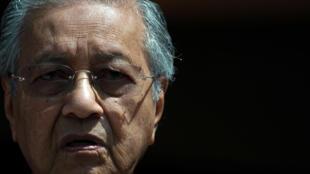 Thủ tướng Malaysia Mahathir Mohamad. Ảnh chụp lúc họp báo tại Kuala Lumpur, ngày 11/05/2018.