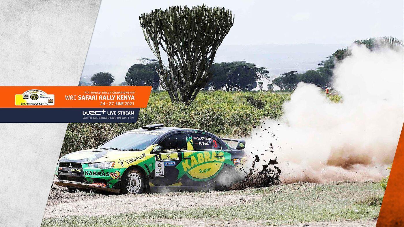 WRC Safari Rally Kenya