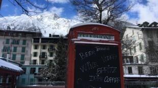 La station de ski de Chamonix est traditionnellement prisée des touristes britanniques.