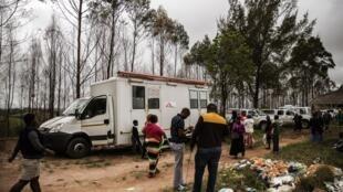 Ação eda ONG Médicos sem Fronteiras