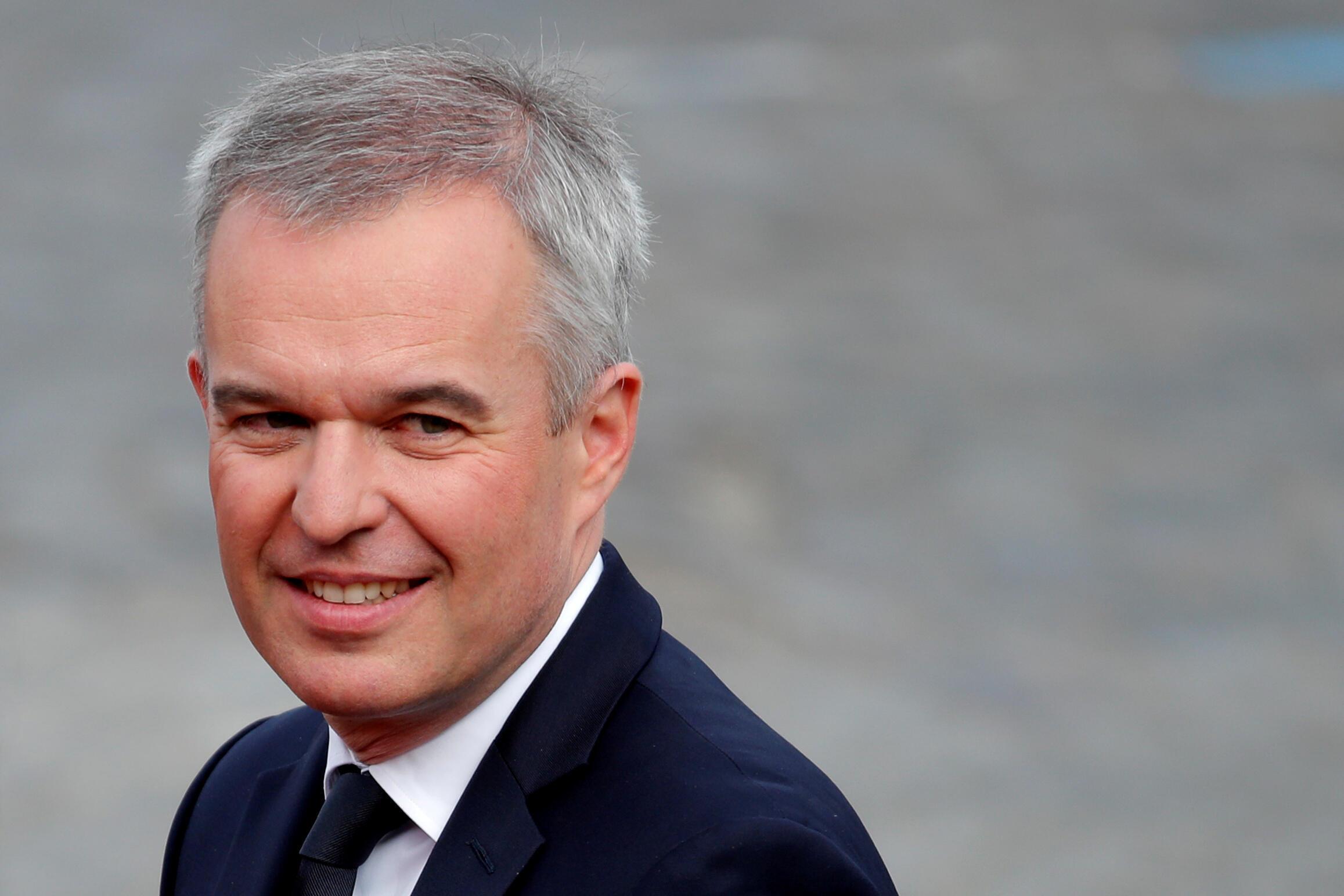 O ministro francês da Transição Ecológica e Inclusiva, François de Rugy