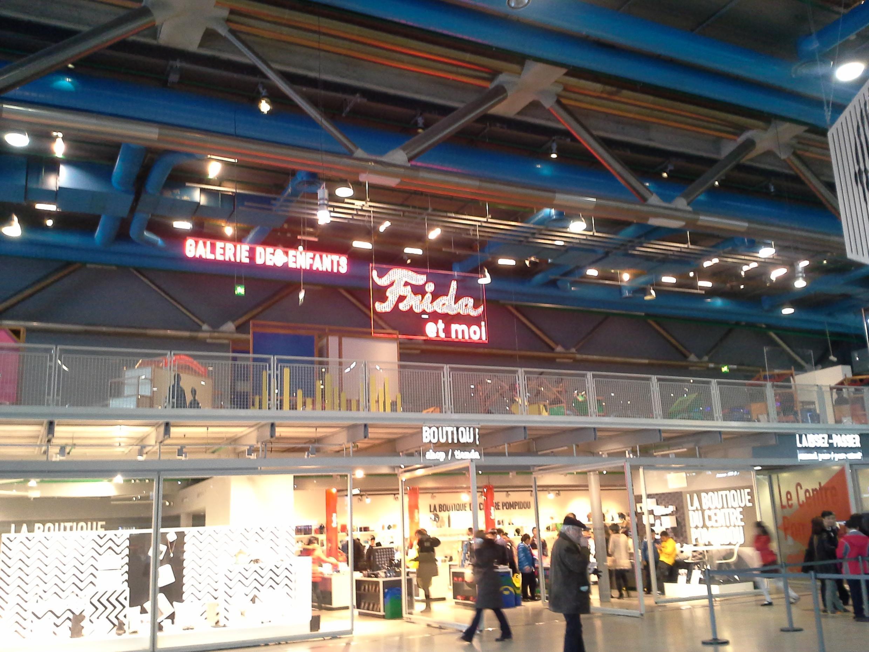 """La exposición-taller """"Frida y yo"""" en el Centro Pompidou de París."""