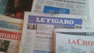 Primeiras páginas dos jornais franceses de 12 de junho de 2019