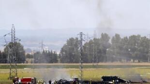 Tai nạn máy bay Airbus400M tại Tây Ban Nha ngày 09/05/2015.