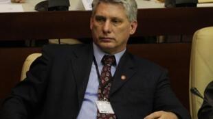 O engenheiro Miguel Díaz-Canel, de 52 anos, foi eleito primeiro vice-presidente de Cuba.