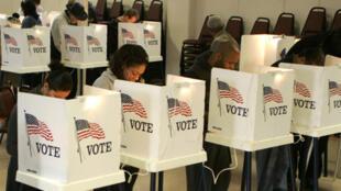 Mesas de voto nos Estados Unidos