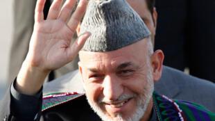 le président Afghan Hamid Karzai