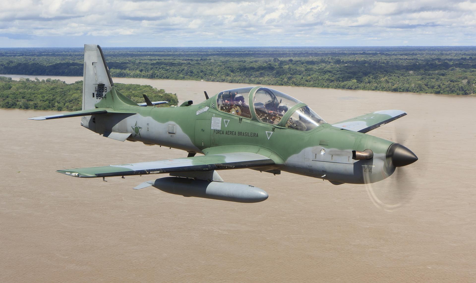Jirgin yaki na zamani kirar Super Tucano A-29.