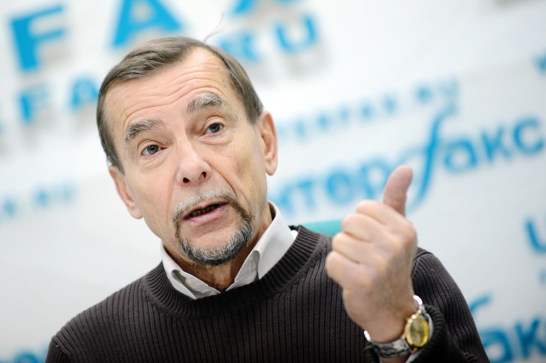 """法广存档图片 - Image d'archive RFI : Leader du mouvement """"Pour les droits de l'homme"""" Lev Ponomarev"""
