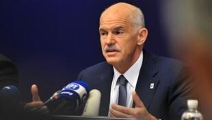 Waziri mkuu wa Ugiriki, George Papandreou