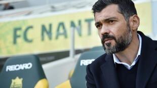 Sérgio Conceição, treinador português do FC Nantes.