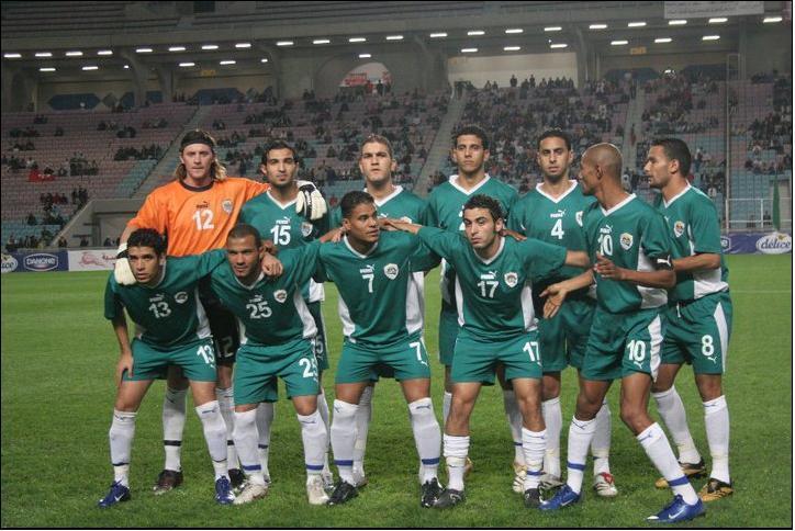 La selección de fútbol de Libia