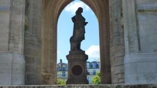 Памятник Блезу Паскалю в башне Сен-Жак, Париж, 20 августа