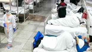 Wasu masu jinyar Coronavirus a Iran