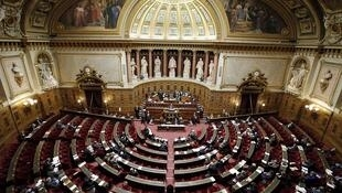File photo of the French Senate.