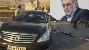 Kisan masanin nukiliyar Iran Mohsen Fakhrizadeh