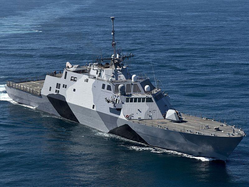 Tàu cận chiến duyên hải USS Independence của Mỹ (nguồn: www.navy.mil)