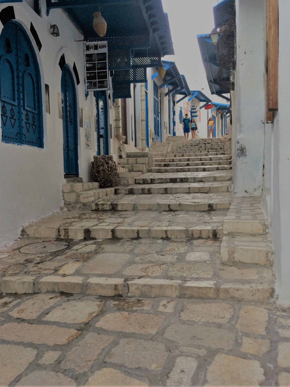 A street in the Sousse medina, September 13, 2019