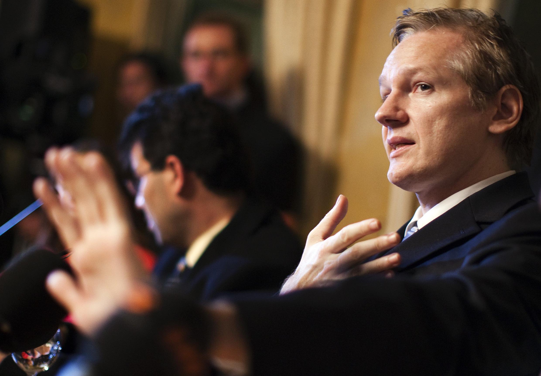 Julian Assange, fundador do site Wikileaks, que fez novas revelações sobre os bastidores da diplomacia dos EUA entre 2004 e 2010.