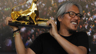 Lav Diaz کارگردان فلیپینی، برنده یوزپلنگ طلایی در شصت و هفتمین جشنواره بینالمللی فیلم لوکارنو.