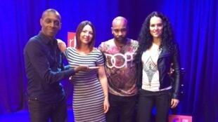 Claudy Siar, Cassilia, Elizio et Laura