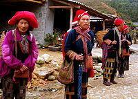 Tộc người H'Mông ở phía Bắc Việt Nam.