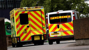 Tin tặc tấn công hệ thống y tế Anh ngày 12/05/2017. Trong ảnh, bên ngoài một cơ sở cấp cứu của bệnh viên St Thomas, Luân Đôn, 12/05/2017.