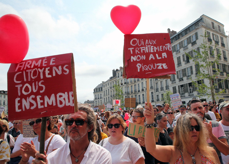Covid protests