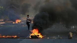 Este jueves 3 de octubre fue el día más letal desde que empezó la movilización. Aquí, en Bagdad.