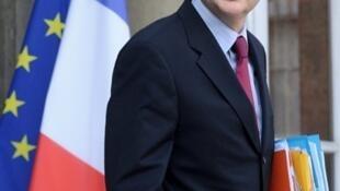 Le ministre français de l'Immigration, de l'intégration et de l'identité nationale Eric Besson.