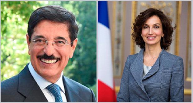 رقابت میان نامزدها از دو کشور فرانسه و قطر برای مقام مدیرکلی یونسکو نهایی شد