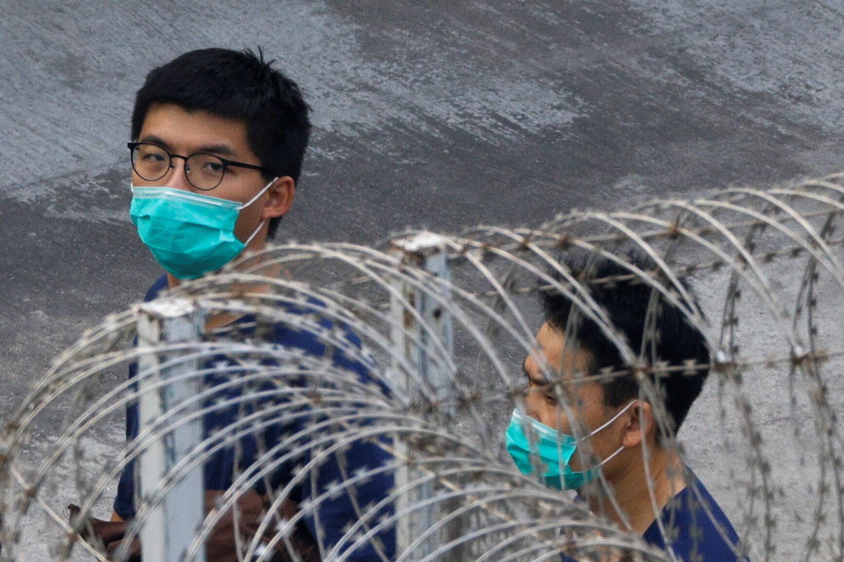 Hong Kong - Joshua Wong - prison