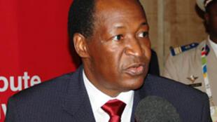 Blaise Compaoré, médiateur dans la crise en Guinée.