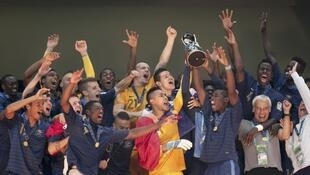Đổi tuyển U20 Pháp giành chức Vô địch Bóng đá Thế giới 2013 (13/07/2013)