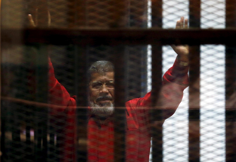 Tsohon shugaban kasar Masar Mohamed Morsi.