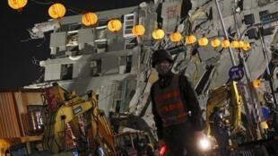 台南地震第4天报41人死亡 仍有109人失联