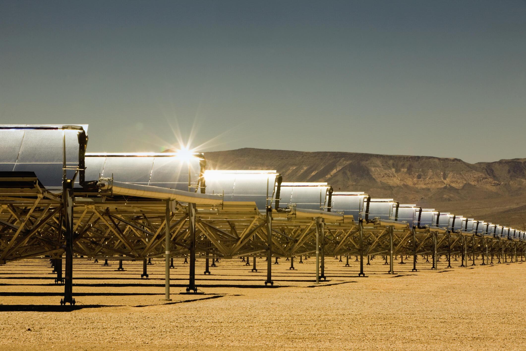 La centrale d'Ashalim pourra produire 121 mégawatts pour la première tranche du projet, de quoi alimenter 120 000 foyers israéliens. (photo d'illustration)