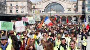 بیستمین تظاهرات جلیقه زردها در پاریس