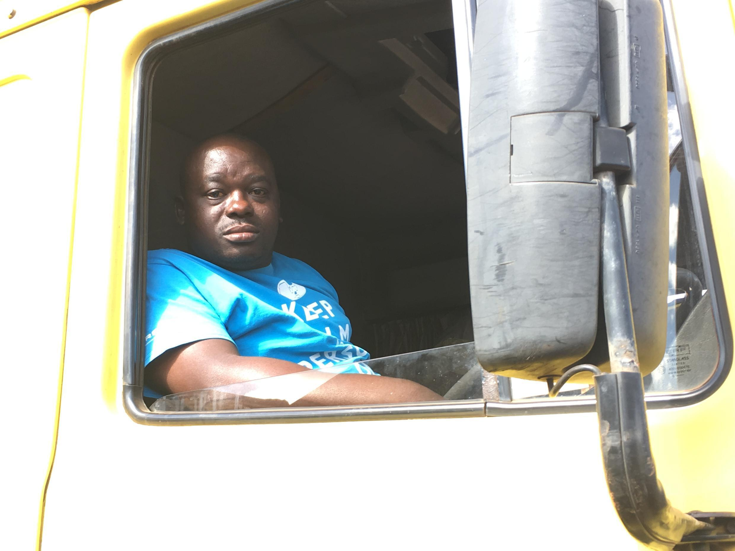 Zimbwaean trucker Joseph Cheza is voting for change, but if that doesn't happen he'll go back to South Africa