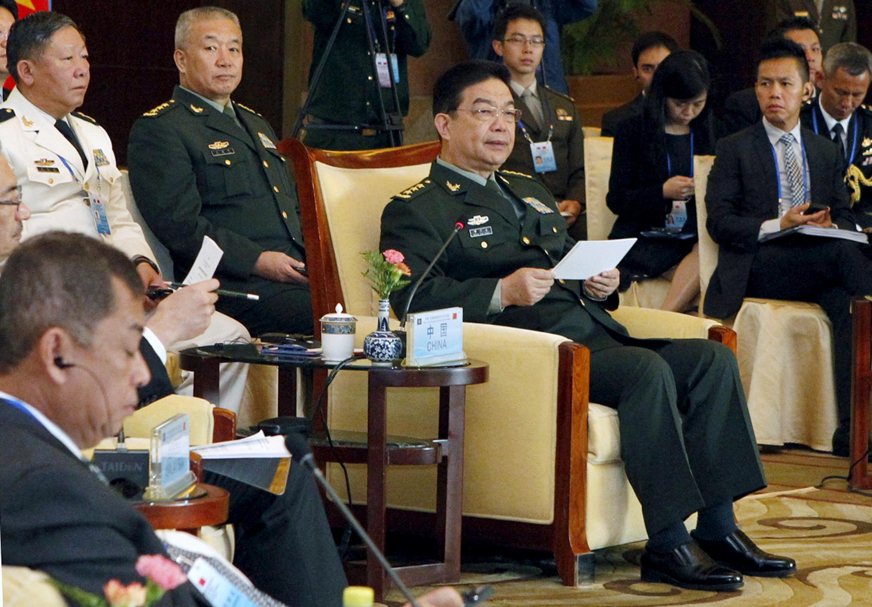 Bộ trưởng Quốc phòng Trung Quốc Thường Vạn Toàn, Bắc Kinh, ngày 16/10/2015.