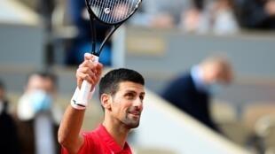 Top seed Novak Djokovic took 83 minutes to beat Richard's Berankis on centre court.