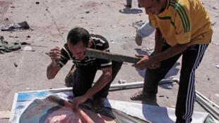 Le quartier d'Abou Salim à Tripoli était réputé pro-Kadhafi. Il était, depuis mardi 23 août le théâtre de violents combats.
