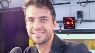Jorge Viladoms en los estudios de RFI