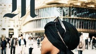 """A capa do semanário """"M"""", do jornal Le Monde, traz reportagem sobre as meninas francesas que optaram por usar o véu islâmico."""