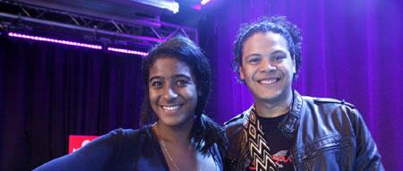 Leyla McCalla et Tato Marenco à RFI.