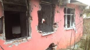 One of the housess used by IS members in Diyarbakir after Turkish police raided it