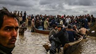 """سیل در استان گلستان: """"خانههای مردم در گنبدکاووس، آق قلا و گمیشان  زیر آب رفته است"""""""""""