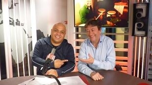 Jesús Flores y Jordi Batallé en RFI