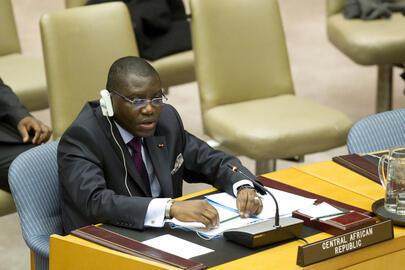 Charles-Armel Doubane, l'ambassadeur censé avoir été révoqué en juillet dernier.