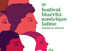 Une affiche du 26e Festival de Biarritz Amérique latine.